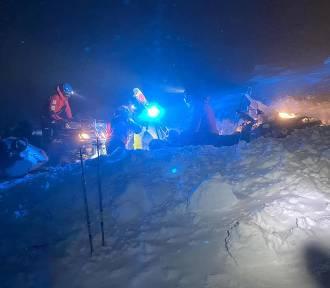 Wieczorna akcja GOPR Karkonosze. Turyści potrzebowali pomocy