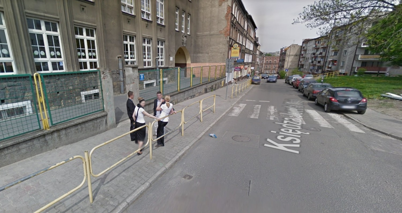 Mieszkańcy Zabrza przyłapani przez kamerę Google Street View