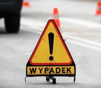 Wypadek w Dolaszewie: jedna osoba w ciężkim stanie