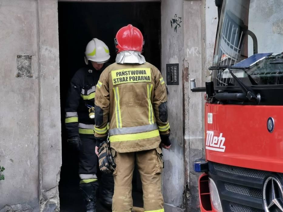 Pożar przy ul. Browarnej w Toruniu. Jedna osoba nie żyje! Mamy zdjęcia