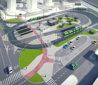 Tak będzie wyglądać nowa trasa tramwajowa na Klin Dębiecki