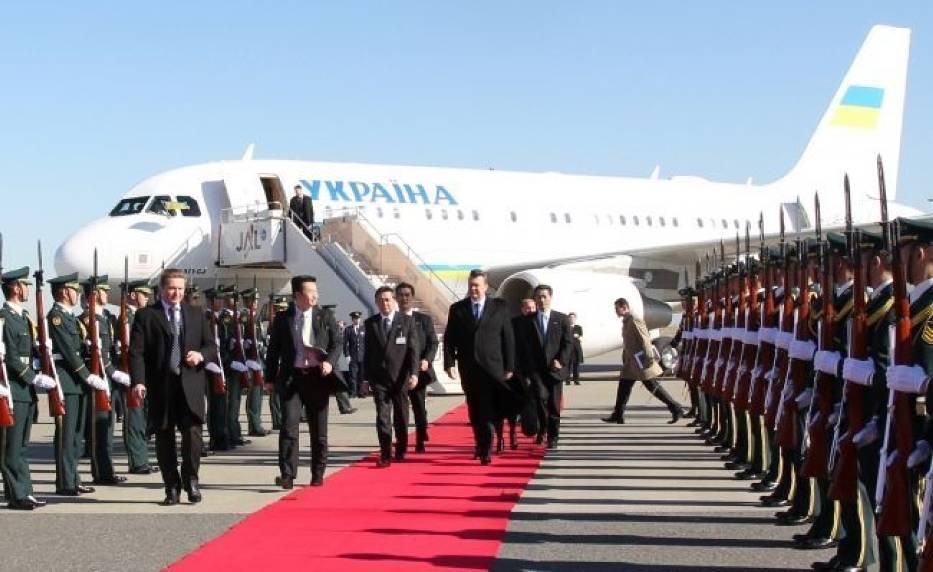 Janukowycz rozpoczyna wizytę w Japonii