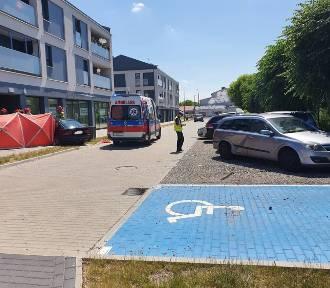 Wypadek na Kościelnej w Koninie