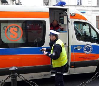 Piotrawin. 28-latek mając ponad 2,5 promila śmiertelnie potrącił rowerzystkę