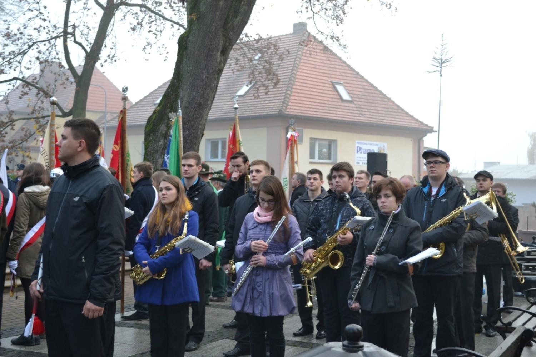 Święto niepodległości w Człuchowie, 11.11.2014r