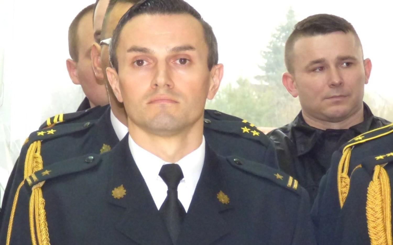 Młodszy brygadier Artur Brachowicz pełni obowiązki buskiego komendanta powiatowego Państwowej Straży Pożarnej