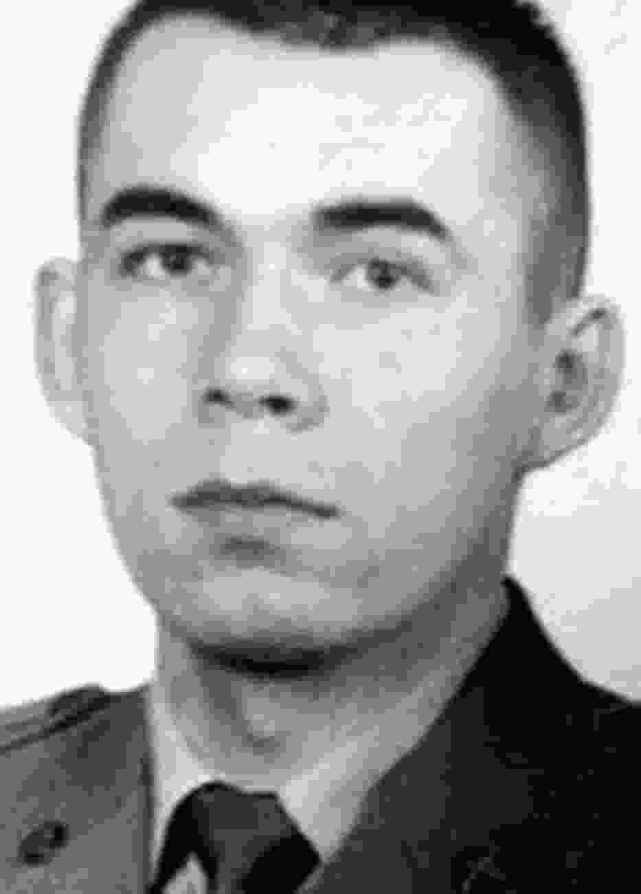 Starszy szeregowy Radosław Szyszkiewicz