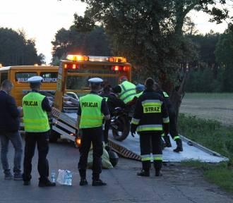 Śmiertelny wypadek w Borui - [Zdjęcia]