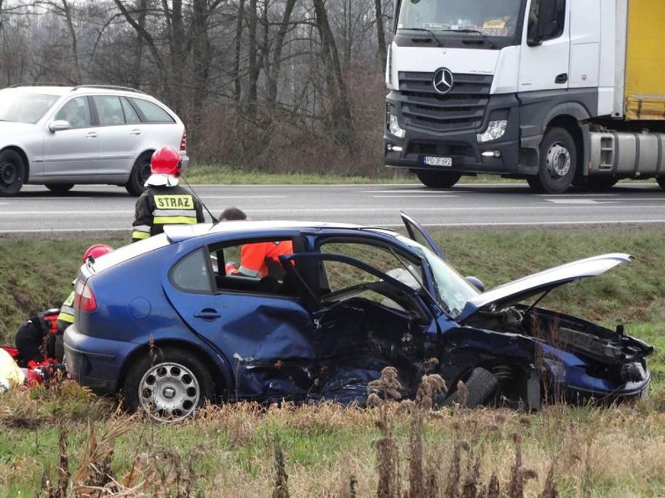 Nowy Tomyśl: Poważny wypadek na obwodnicy