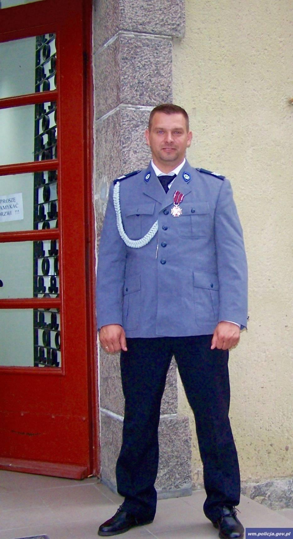 sierżant sztabowy Artur Gudaniec