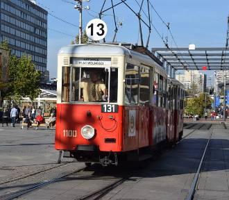 Zabytkowe tramwaje na linii z Katowic do Siemianowic Śląskich ZDJĘCIA