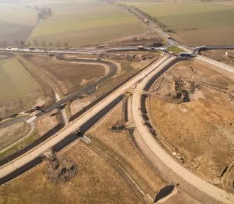Droga S3 - w pobliżu Radwanic zmiana organizaji ruchu
