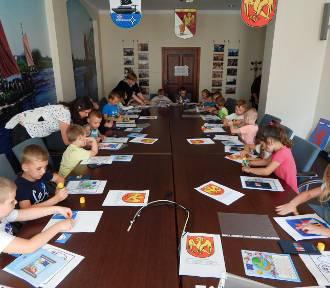 Dzieci z wizytą u kwidzyńskiego starosty [ZDJĘCIA]