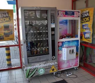 W Chodzieży stanął automat z produktami z konopi. Pomysł budzi kontrowersje
