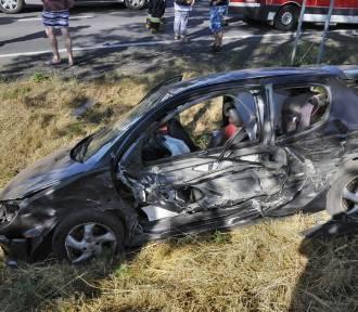Poważny wypadek w Racocie. Ranne zostały trzy osoby ZDJĘCIA