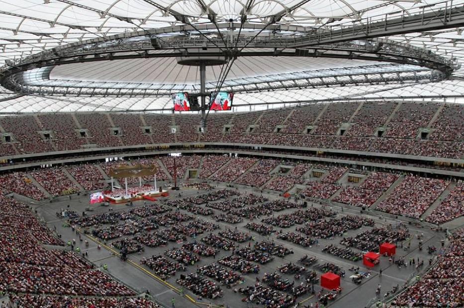 Jezus na Stadionie 2017 - 1 lipca ponad 60 tysięcy wiernych spotka się na Narodowym