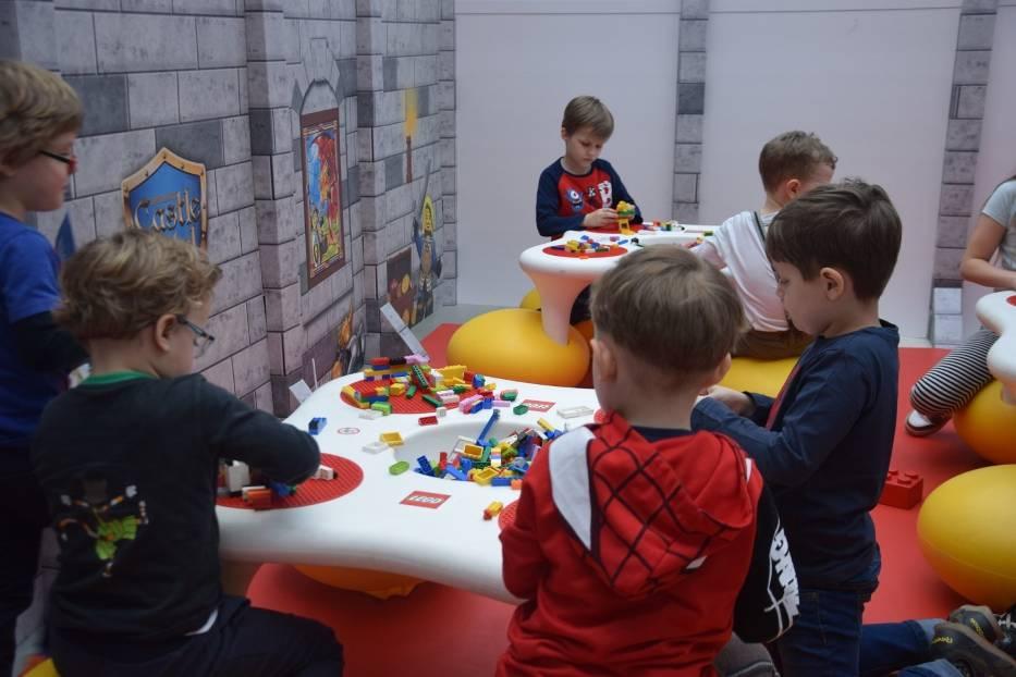Legoland w galerii handlowej Gemini Park w Tychach