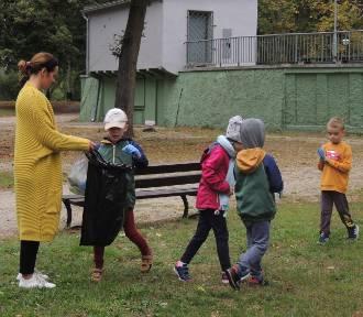Wągrowieckie przedszkolaki sprzątały świat!