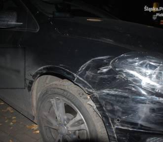 Piekary Śląskie: Kierowca mercedesa staranował siedem samochodów... i odjechał. Zareagował