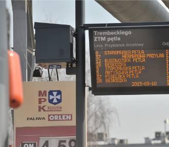 Uwaga pasażerowie, zmiany rozkładów jazdy linii MPK Rzeszów