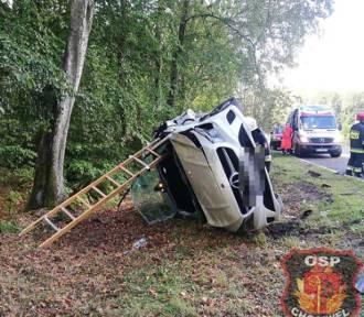 """Wypadek na """"dwudziestce"""". Sprawca kierował BMW nie mając prawa jazdy"""