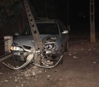 Pijany kierowca spowodował kolizję drogową na Kaliskiej w Sycowie