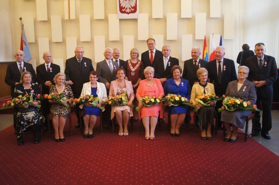 Złote Gody w Urzędzie Miasta w Radomsku (Październik 2016)