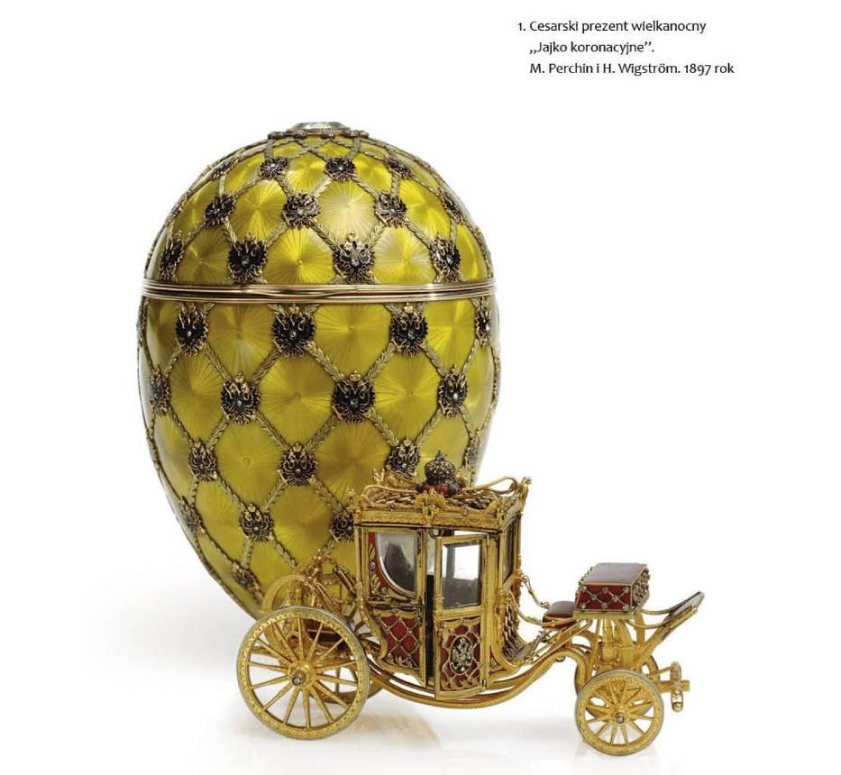 """Zdjęcie strony w książce """"Faberge"""