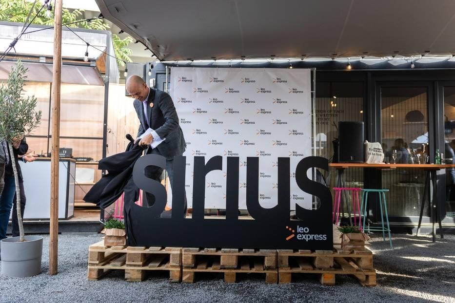 Prezentacja nowego pociągu Leo Express Sirius