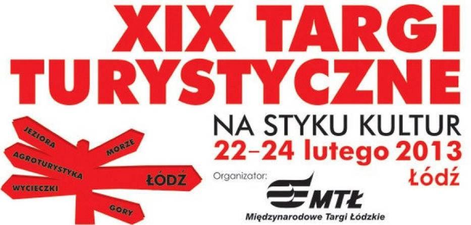 """Plakat XIX Targów Turystycznych """"Na styku kultur"""""""