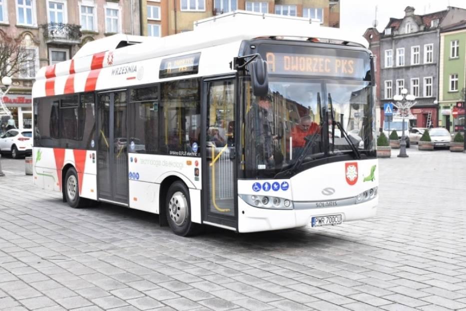 Września: Nowy rozkład jazdy bezpłatnego autobusu na małej pętli