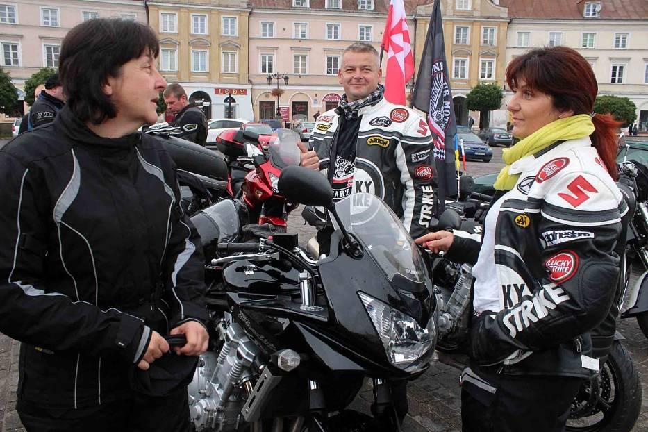 Z Lublina wyruszył V Rajd Wołyński (ZDJĘCIA)
