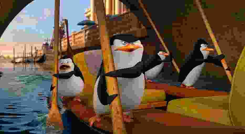 """""""Pingwiny z Madagaskaru"""" - kadr z filmu"""