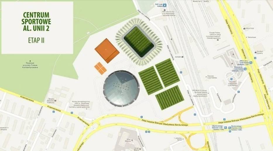 Centrum Sportu przy al. Unii Lubelskiej 2