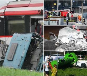 Ku przestrodze! Tragiczne wypadki na przejazdach kolejowych [ZDJĘCIA]