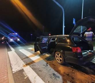 Pięć osób rannych w wypadku pod Wadowicami. Zderzyły się dwa samochody