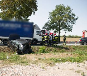Wypadek pod Lesznem, małe dzieci w szpitalu