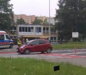 Kraków. Potrącenie rowerzysty na ul. Andersa
