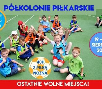 Ostatnie półkolonie w mieście z Akademią Piłkarską Oleśnica