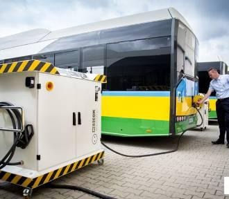 Bełchatów: Elektryczne autobusy już są, kierowcy się szkolą [ZDJĘCIA]