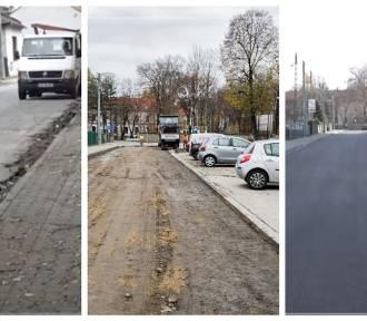 Zakończono remont ul. Klasztornej. Zobacz zdjęcia przed i po