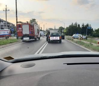 Śmiertelny wypadek w Mierzynie. Motocyklista zderzył się z samochodem osobowym