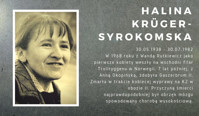 Halina Krüger-Syrokomska (1938-1982)