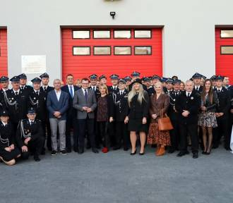 W Wilkowicach otworzono nową remizę strażacką [zdjęcia]