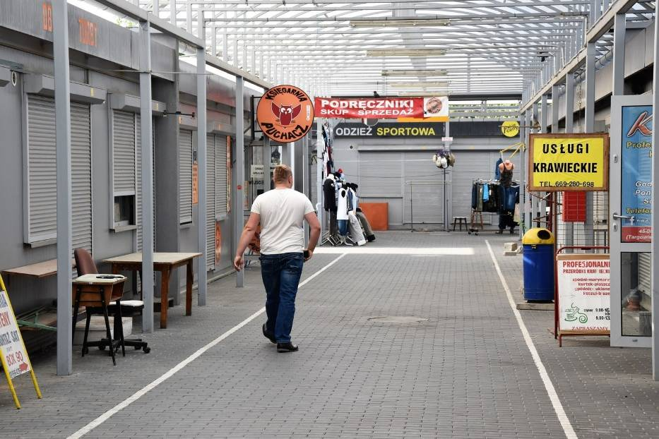 Targowisko Centrum w Opolu ma działać do końca roku