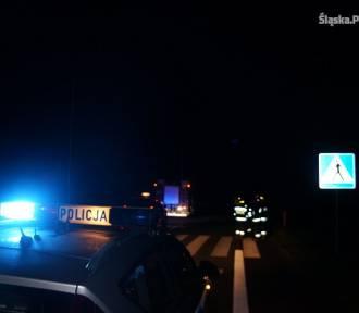 Wypadek w Leśniakach. 27-latek potrącony przez mercedesa, zmarł w szpitalu