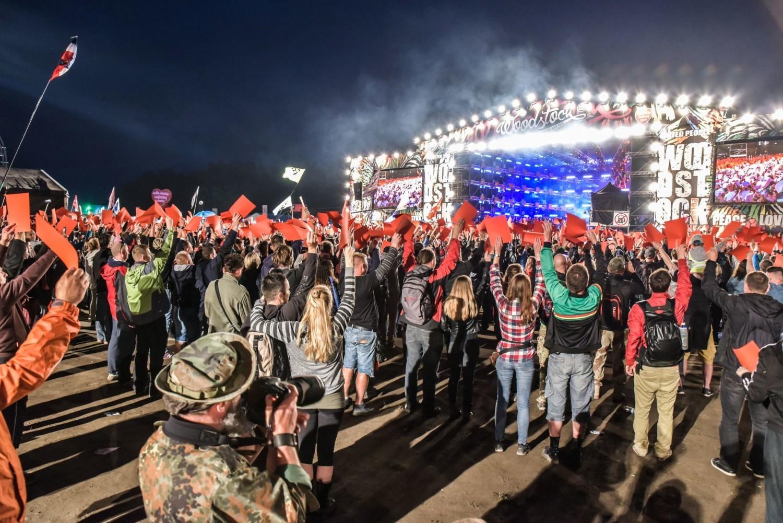 Woodstock 2016. Hołd dla ofiar zamachu w Nicei