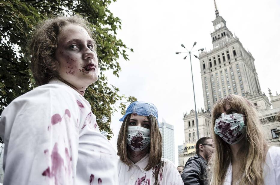 Zombie Walk 2014, Warszawa