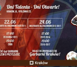22 i 24 czerwca 2021 roku Dni Talentu - Dni Otwarte w RKS Garbarnia Kraków
