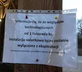 Tężnia solankowa w Rybniku - Paruszowcu zamknięta